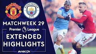 Manchester United v. Manchester City | PREMIER LEAGUE HIGHLIGHTS | 3/8/2020 | NBC Sports