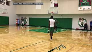 Kyrie Irving has no problem schooling his teammates, including Jaylen Brown and Jayson Tatum | ESPN