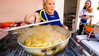 Incredible Moroccan Food and Tunisian Fry Bread Sandwich - AMAZING FOOD in Ashdod!
