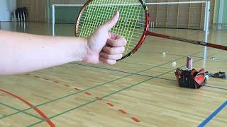 BadmintonExercises (Behind the scenes) - LIVE