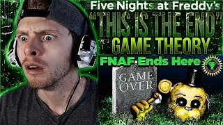"Vapor Reacts #687 | FIVE NIGHTS AT FREDDY'S THEORY ""This Is The End"" by The Game Theorists REACTION!"
