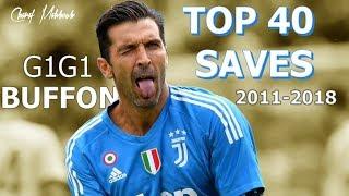 Gianluigi Buffon TOP 40 Saves 2011-2018