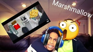 Marshmello - Blocks (Official Music Video) - Reaction