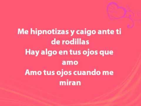 Anahí - Me Hipnotizas (with lyrics)
