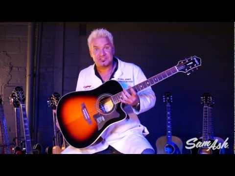 Epiphone DR-500MCE Acoustic Electric Guitar at Sam Ash Music