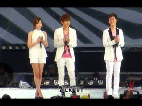 [Fancam] 120818 SMT in Seoul :: Dear My Family (baekhyun ver.)