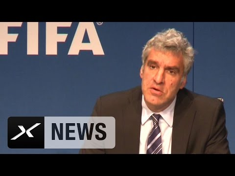 FIFA: Die skurrile Pressekonferenz zum Korruptionsskandal