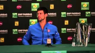 2015 Novak Djokovic Final Press Conference