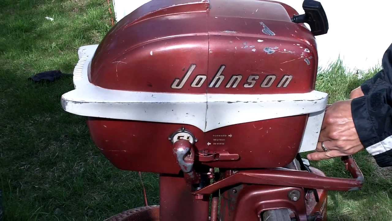 1956 Johnson Seahorse 5 5hp