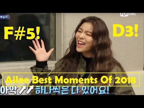 Ailee - 에일리 - Best Moments 2018! [D3-A5]