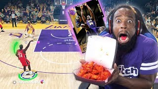 EVERY 3-POINTER 99 OPAL SHAQ MISSES I EAT WORLDS HOTTEST WINGS!