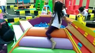 Fun indoor playground for family and kids at Blu Plaza Bekasi - Indonesia - Talita mandi bola