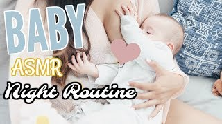 ASMR Relaxing Baby Night Routine! Soft Sounds