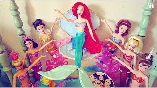 Ariel's Sisters Disney dolls Collection