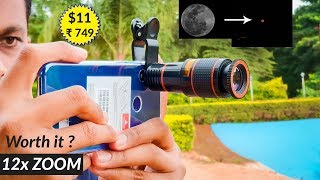 Mobile Lens 12x Zoom Worth it ? Quality Zoom Lens Review