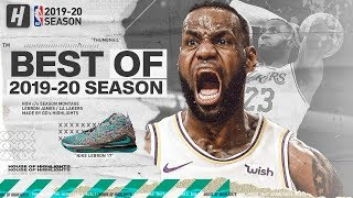 LeBron James BEST Lakers Highlights from 2019-20 NBA Season (PART 2) EPIC DUNKS!