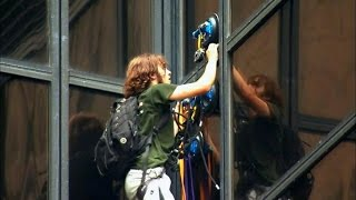 See New Photos Of Trump Supporter Who Climbed Building With Suction Cups