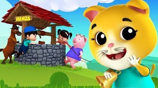 Ding Dong Bell | Kindergarten Nursery Rhymes For Babies | Cartoons Videos For Babies by Farmees