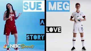 Sue Bird and Megan Rapinoe's Olympic love story | NBC Sports