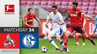 1. FC Köln - FC Schalke 04 | 1-0 | Highlights | Matchday 34 – Bundesliga 2020/21