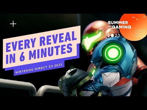 Nintendo E3 Direct in 6 Minutes - E3 2021