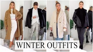 CASUAL WINTER OUTFIT IDEAS 2018   COZY & WARM