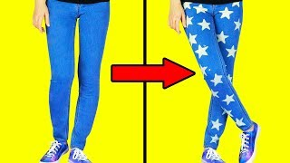 15 EASY WAYS TO UPGRADE YOUR CLOTHES IN 1 MINUTE