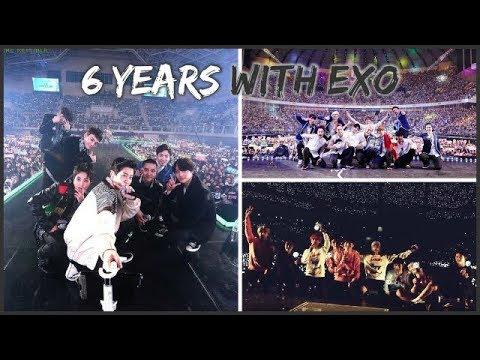 #6YearsWithEXO || EXO IN 6 YEARS  😃😭😍💖