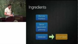 Building a RESTful DrugBank Using Ruby on Rails and JChem Base - Craig Knox (University of Alberta)