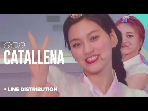 I.O.I - Catallena : Line Distribution (Star Show 360 Ep.4 | Color Coded)