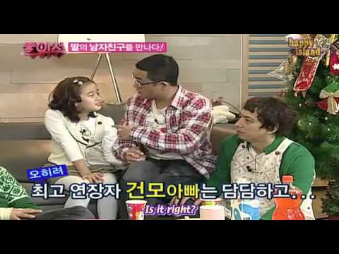 HeeChuL (suJu) & HonGKi (FT.Island) GeTTinG AnGrY when their daughter got BF.
