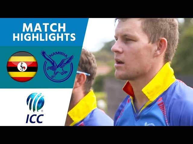 ICC Mens T20 World Cup Qualifier Africa Final: Namibia v Uganda match highlights