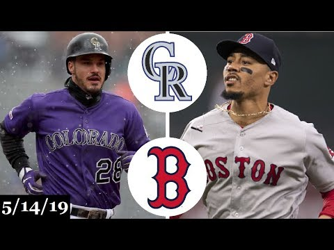 Colorado Rockies vs Boston Red Sox Highlights | May 14, 2019