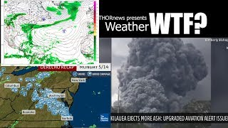 Red Alert! Hawaii Volcano &  Florida & East Coast Flooding problems coming up