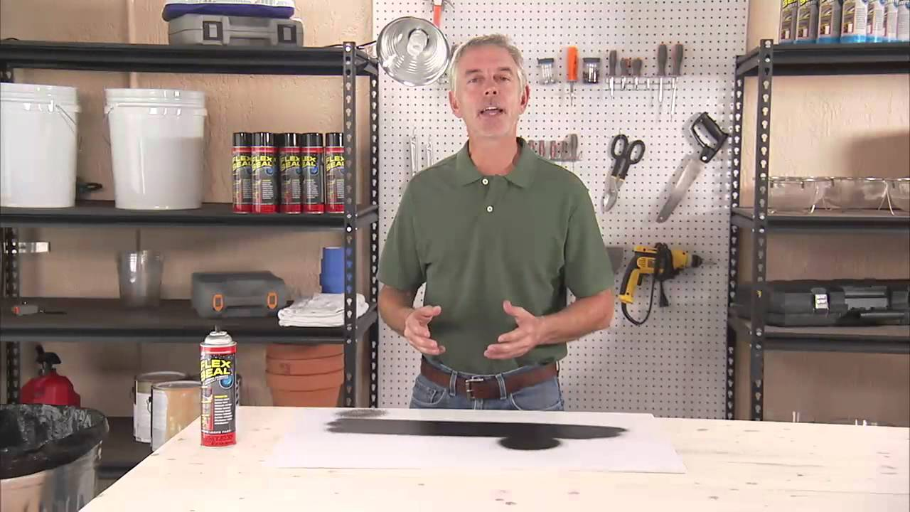 How To Properly Apply Flex Seal For Maximum Hold Youtube