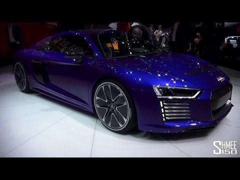 Новото Ауди R8 e-tron на саем во Женева