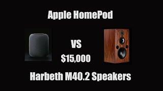 Apple HomePod vs $15,000 Speakers