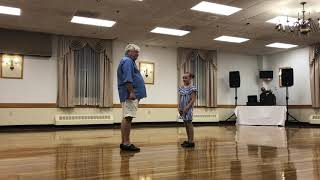 Tap duo, 10 year old and her Grandfather💗