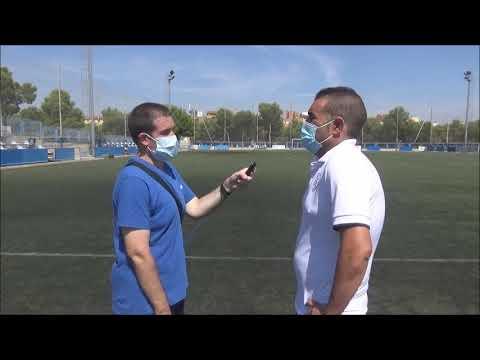 MIGUEL ÁNGEL (Entrenador Giner) CD Giner 1-2 CF Épila / J 1 / 3ª División