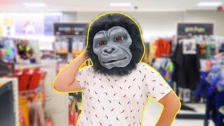 DRESSING UP AS A CHANGO AT TARGET!