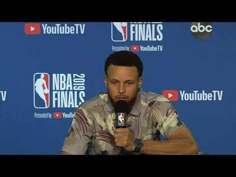 Stephen Curry Postgame Interview - Game 3   Raptors vs Warriors   2019 NBA Finals