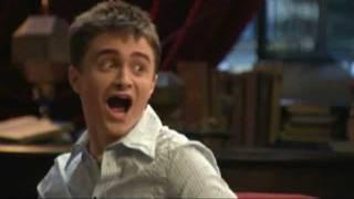 Harry Potter Cast Having Fun on Set