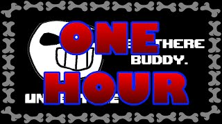 one hour: hey there buddy (joke dub)