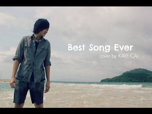 Video Best Song Ever - One Direction ( KAYE CAL Acoustic