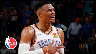 Russell Westbrook makes NBA history with 20-20-20 game | Thunder vs. Lakers | NBA Highlights