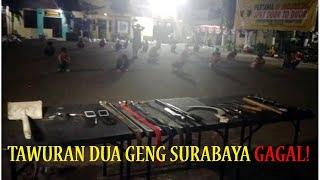 Hendak Tawuran di Surabaya, Dua Geng Bersajam Dibekuk