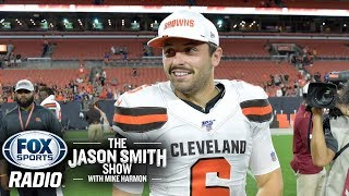 T. J. Houshmandzadeh - I'll Give Baker Mayfield A Pass For His Daniel Jones Comments