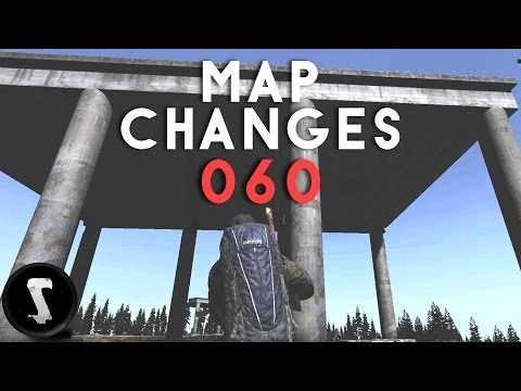 TISY IS HUGE!!! - Patch 0.60 Map Changes - DayZ Showcase