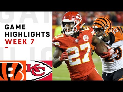 Kansas City Chiefs vs Cincinnati Bengals