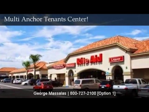 Multi-Anchored Tenants Huge Retail Center Available!
